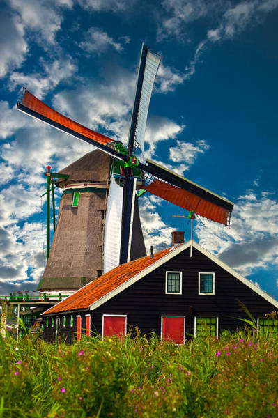 Photograph - Windmill by Harry Spitz