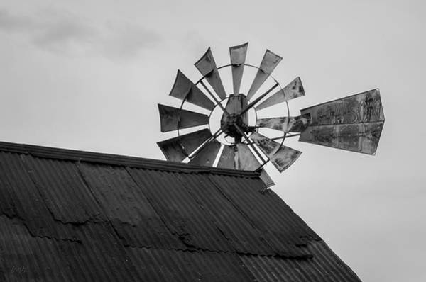 Photograph - Windmill I Bw by David Gordon