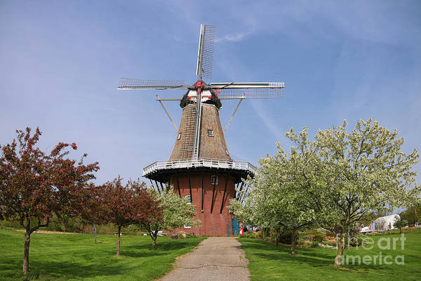 Photograph - Windmill Island Gardens In May by Rachel Cohen