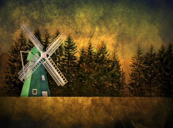 Contrast Wall Art - Photograph - Windmill On My Mind by Evelina Kremsdorf