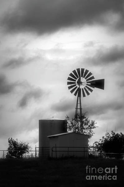 Photograph - Windmill Silhouette by Imagery by Charly