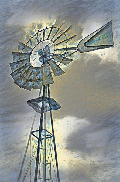 Wall Art - Photograph - Windmill by Steve Ohlsen