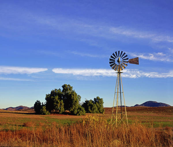 Photograph - Windmill Sunrise Horizontal by Paul Breitkreuz