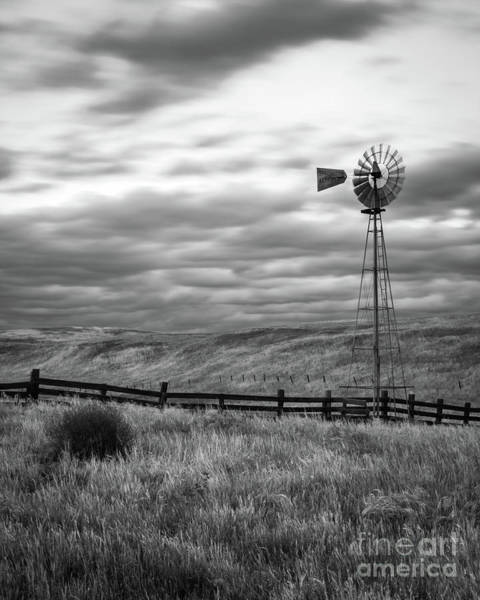 Photograph - Windmill by Vincent Bonafede