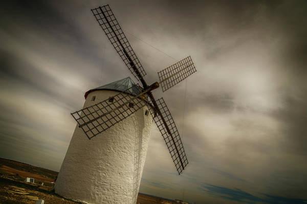 Ensenada Photograph - Windmills At Campo De Criptana by Pablo Lopez