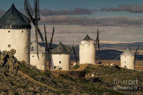 Photograph - Windmills Of La Mancha by Heiko Koehrer-Wagner