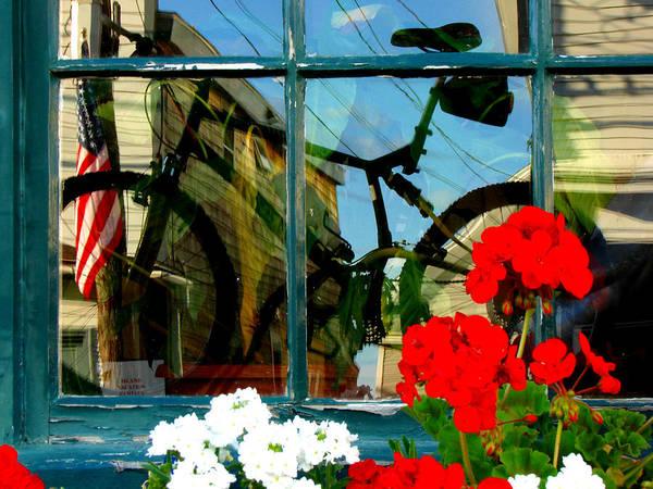Stonington Photograph - Window Art by Diana Douglass