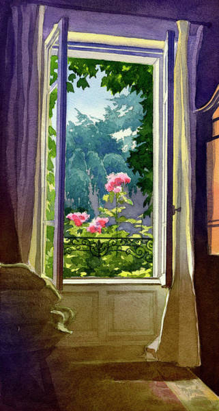 Painting - Window At Clermont by James Faecke