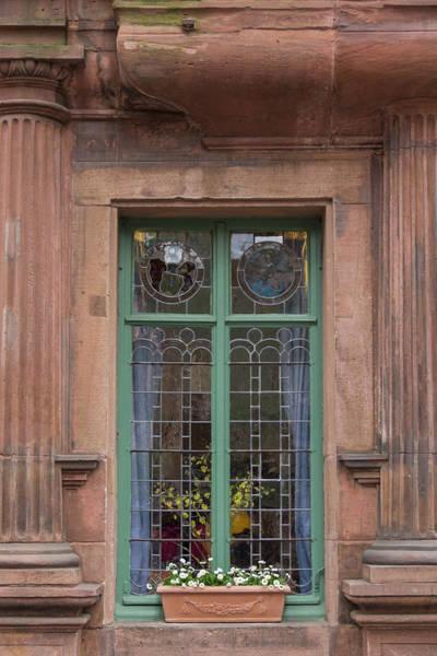 Wall Art - Photograph - Window At Hotel Zum Ritter Heidelberg by Teresa Mucha