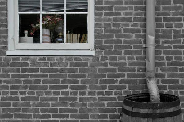 Photograph - Window Barrel by Dylan Punke
