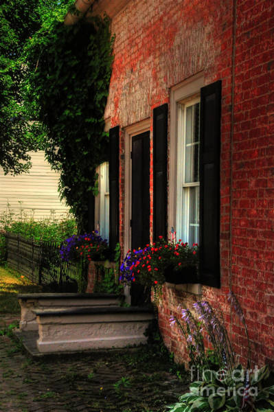 Wall Art - Photograph - Window Boxes by Lois Bryan