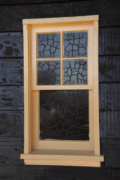 Photograph - Window Crackle by Jody Lovejoy