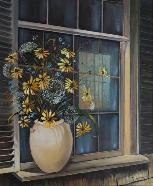 Painting - Window Dressing - Lmj by Ruth Kamenev