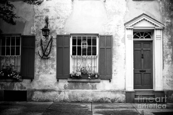 Photograph - Window Dressing In Charleston by John Rizzuto