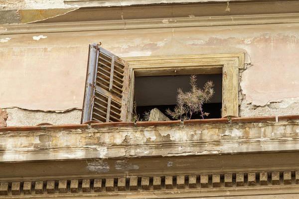 Wall Art - Photograph - Window Evoking Feelings Of Abandonment by Iordanis Pallikaras