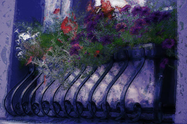Photograph - Window Flowerbox by Donna Bentley