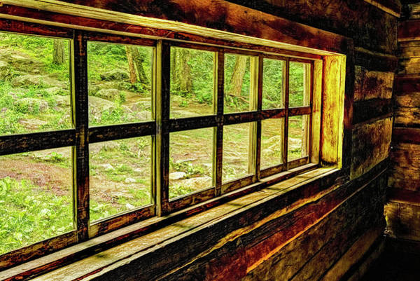 Photograph - Window From An Old Old House by Kay Brewer