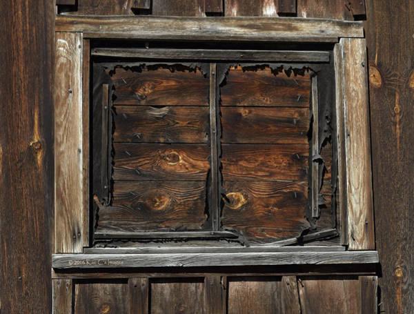 Wall Art - Photograph - Window Gone Wooden by Kae Cheatham