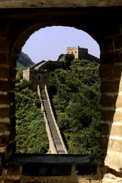 Wall Art - Photograph - Window Great Wall by Bill Bachmann - Printscapes