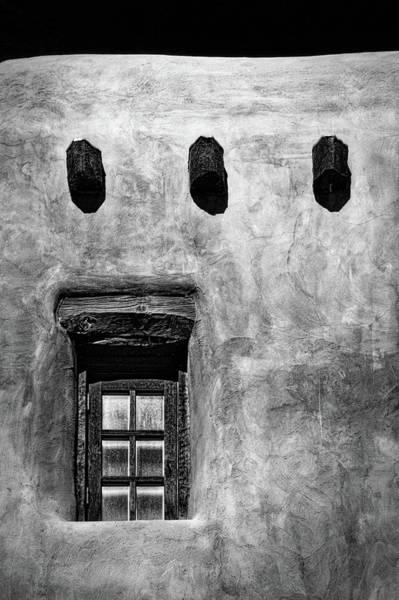 Photograph - Window In An Adobe Wall #2 by Stuart Litoff