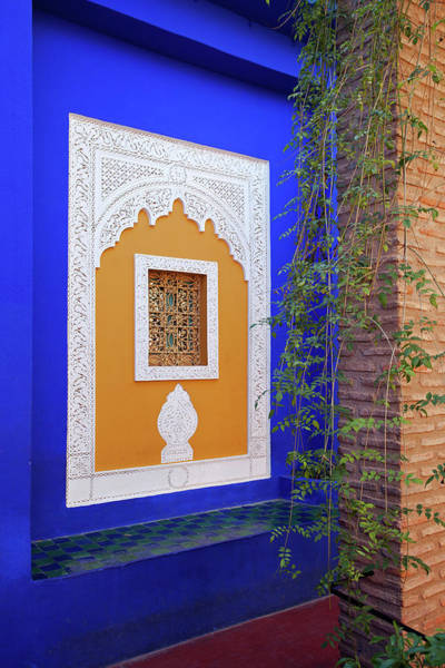 Photograph - Window In Majorelle Gardens by Aivar Mikko