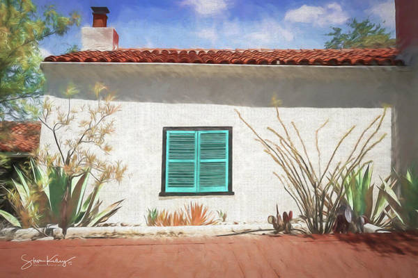 Digital Art - Window In Oracle by Steve Kelley
