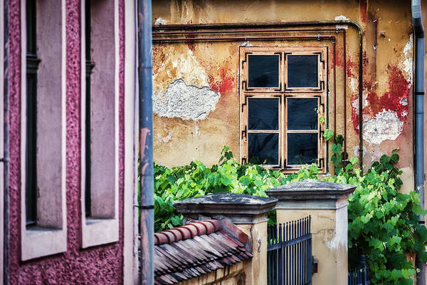 Photograph - Window In The Alley - Romania by Stuart Litoff