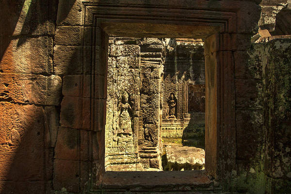 Window Into Angkor Wat Art Print