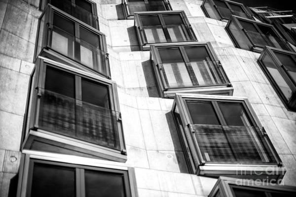 Wall Art - Photograph - Window Lines In Berlin by John Rizzuto
