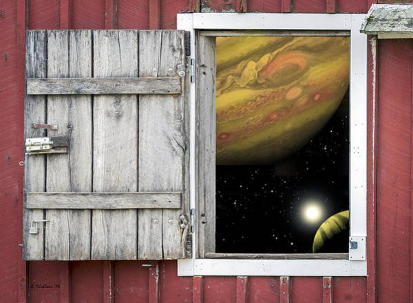 Sfx Photograph - Window Of The Mind by Brian Wallace