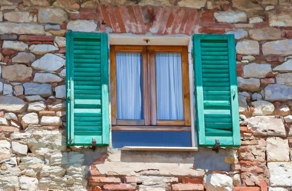 Painting - Window Of Umbria by David Letts