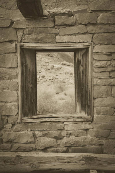 Photograph - Window On The Past by Teresa Wilson
