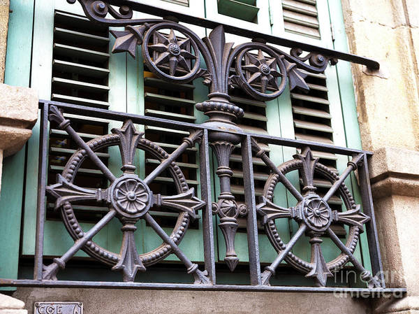 Photograph - Window Protection In Barcelona by John Rizzuto