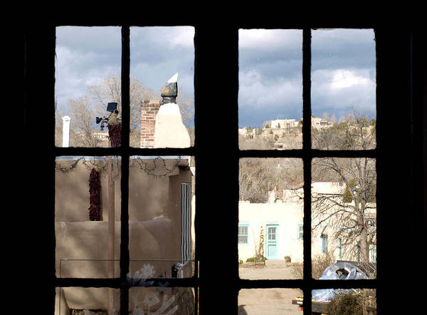 Photograph - Window Santa Fe by James Granberry