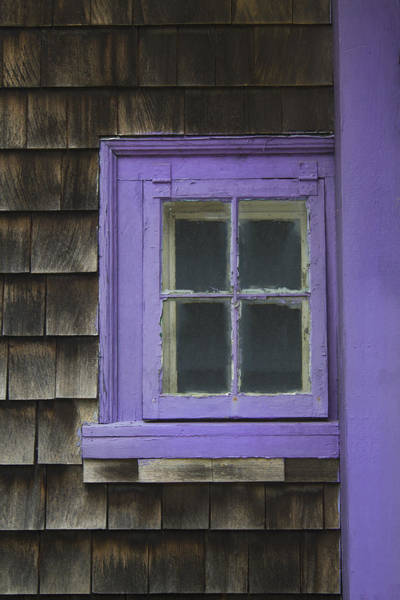 Purple Window - Window Series 04 Art Print