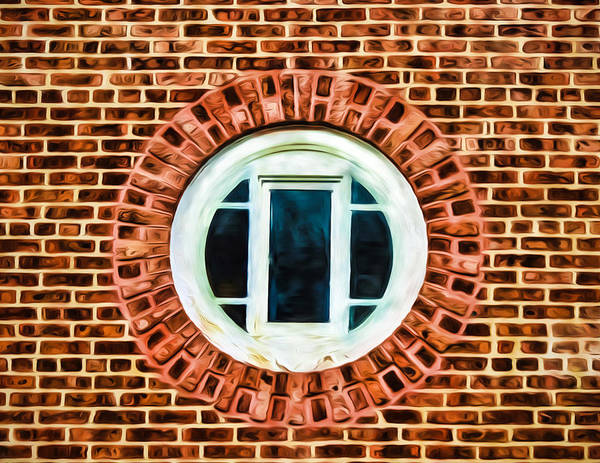 Photograph - Window Shapes In And Around by Gary Slawsky