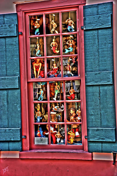 Photograph - Window Shopping For Mermaids And Mermen by Gina O'Brien