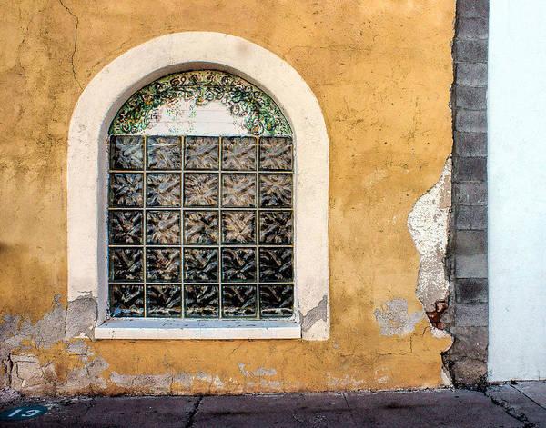 Mission Viejo Photograph - Window - Teatro Carmen - Tucson by Nikolyn McDonald
