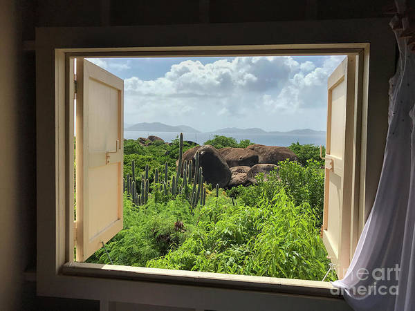 Wall Art - Photograph - Window To The Baths by Jon Neidert