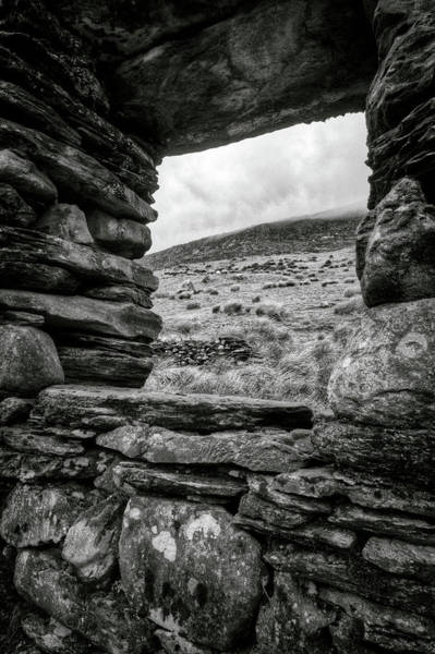 Photograph - Window To Tryfan by Dave Bowman