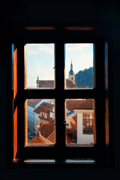 Photograph - Window View by Songquan Deng