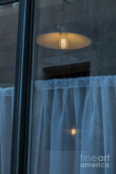 Photograph - Window With Lamp by Mats Silvan