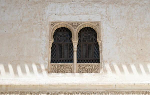 Photograph - Windows, Alhambra by David Kleinsasser