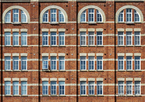Photograph - Windows And Bricks by Tim Gainey