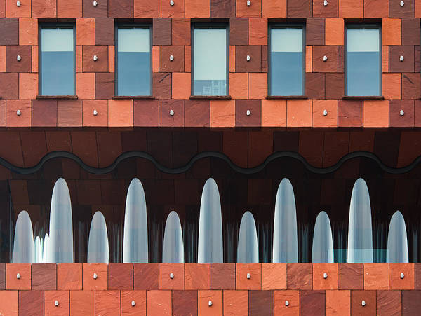 Lines Photograph - Windows And Mas by Greetje Van Son
