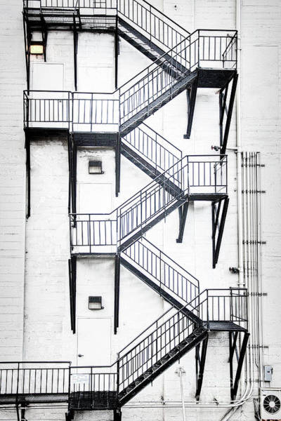 Photograph - Windows And Stairs II by David Emond