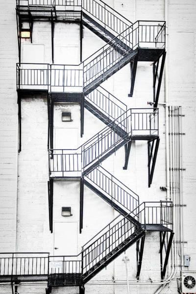 Windows And Stairs II Art Print