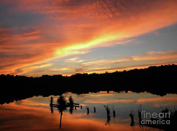 Windows From Heaven Sunset Art Print