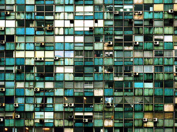 Montevideo Wall Art - Photograph - Windows I by Osvaldo Hamer