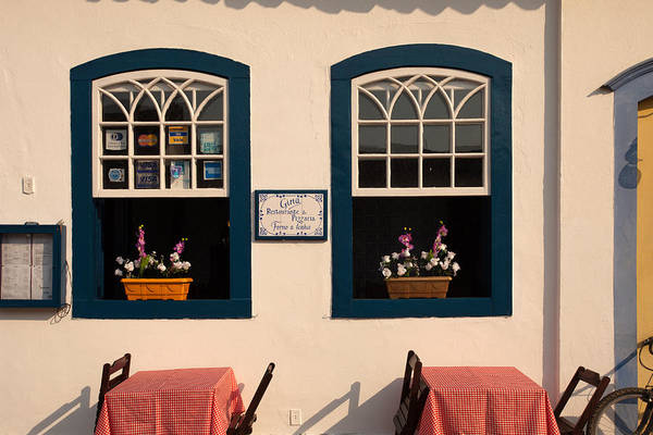 Photograph - Windows In Paraty Old Town by Aivar Mikko